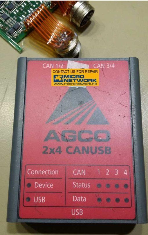 AGCO_canusb_diagnose_adapter_reparasjon