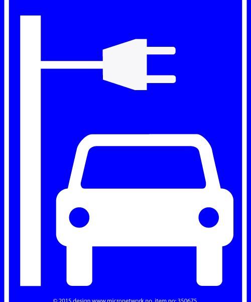 Skilt til bil